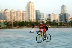 Chiny, Shenzhen - jazda po mieście