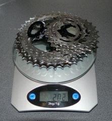 Titanium Cassette 11-36  9s, 202 g