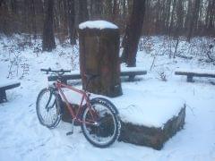 Góra Chełmowa zima