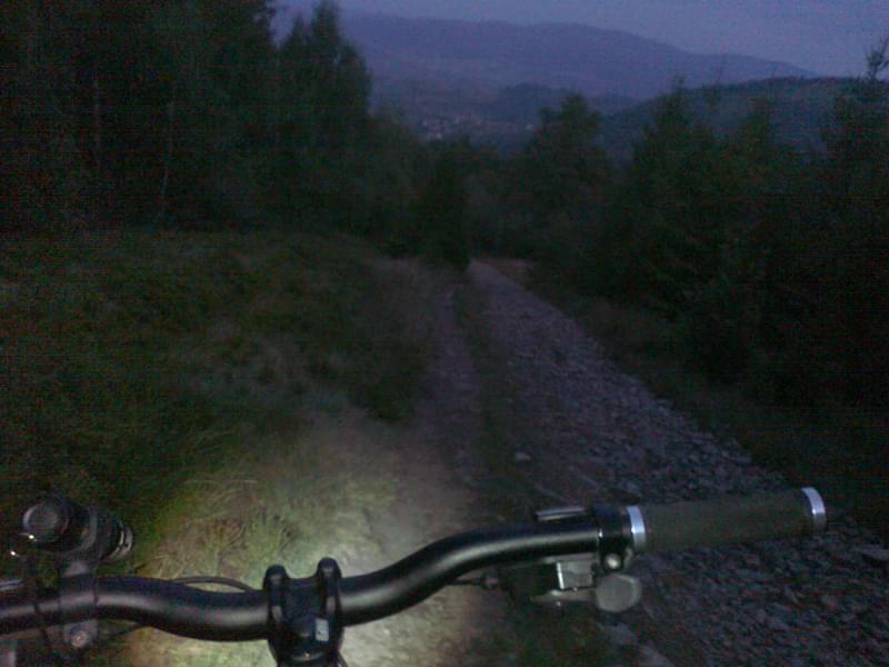 night ride Skrzyczne