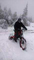 Skrzyczne na e-bike'u