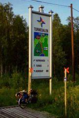 Dookoła Bałtyku, 1999. Na granicy szwedzko fińskiej