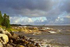Dookoła Bałtyku 1999. Skaliste wybrzeże na północy Szwecji