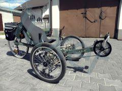 Luxer - trójkołowy rower poziomy mojej produkcji