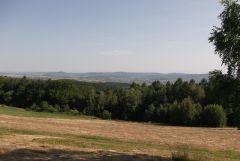 Widok z Wiechy na Sanok