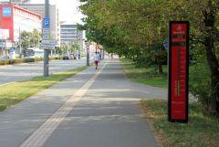 Licznik rowerzystow - Pardubice