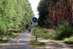 Przyklad drogi rowerowej