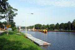 Jedna ze sluz na kanale Odra-Sprewa