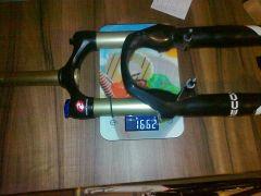 Rock Shox RECON race  18,5 cm rura steowa